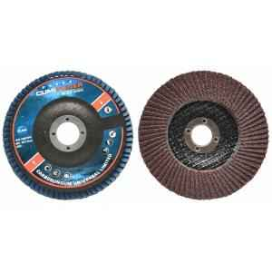 Cumi Grit 120 Aluminium Oxide Type 27 Power Flap Disc (Pack of 100)