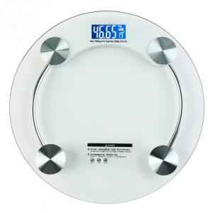 Virgo Digital Personal Weight Glass Body Weighing Scale, v-eps-2003white