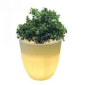Yuccabe Italia LED Pcup 24 Inch Planter