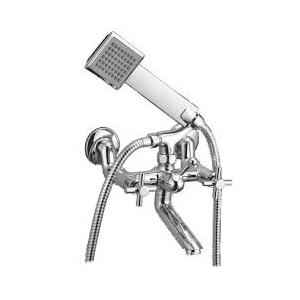 Kamal Cross Wall Mixer with Crutch with Free Tap Cleaner, COR-2141