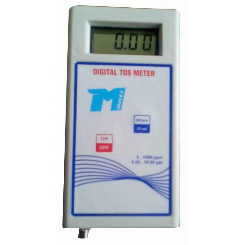 Manti MT-113 Digital Conductivity Meter, Range: 0-1000 mS
