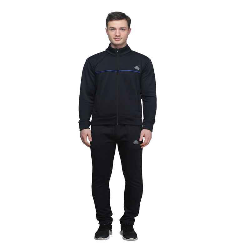 Abloom 142 Black & Blue Tracksuit, Size: XL