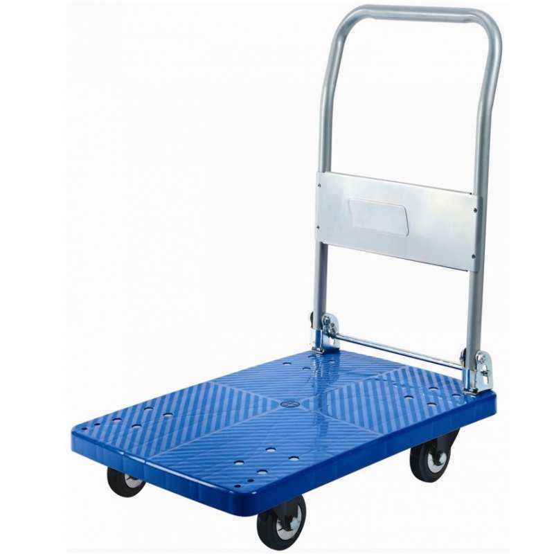 Bigapple 300kg Capacity Single Platform Industrial Trolley, WH-1