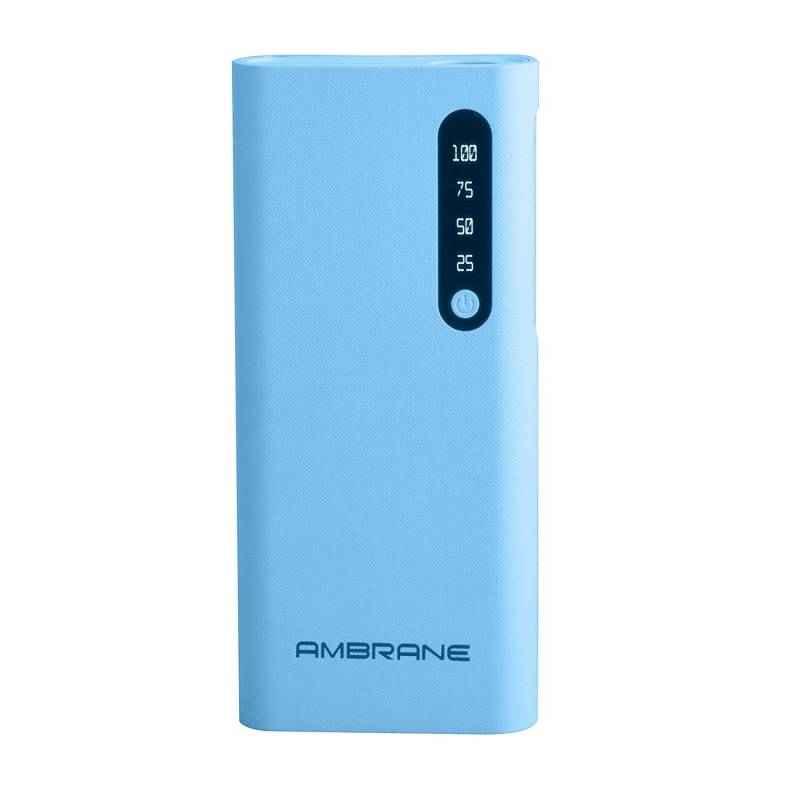 Ambrane 8000mAh Blue Power Bank, P-888