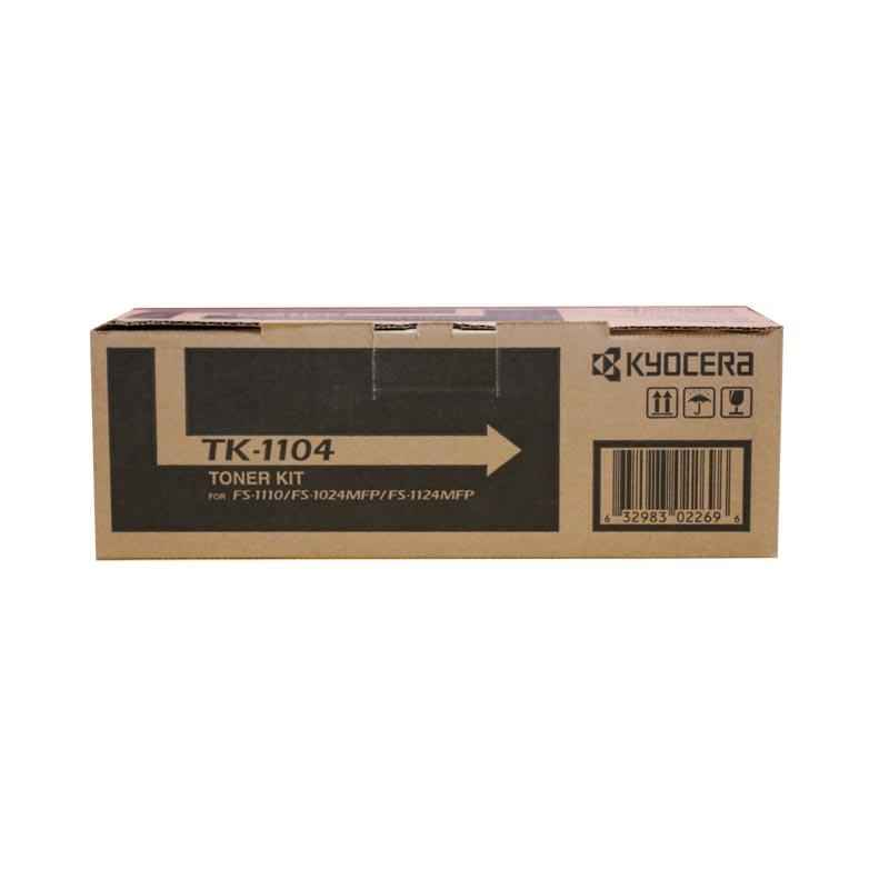 Kyocera Black Toner Cartridge, TK 1104