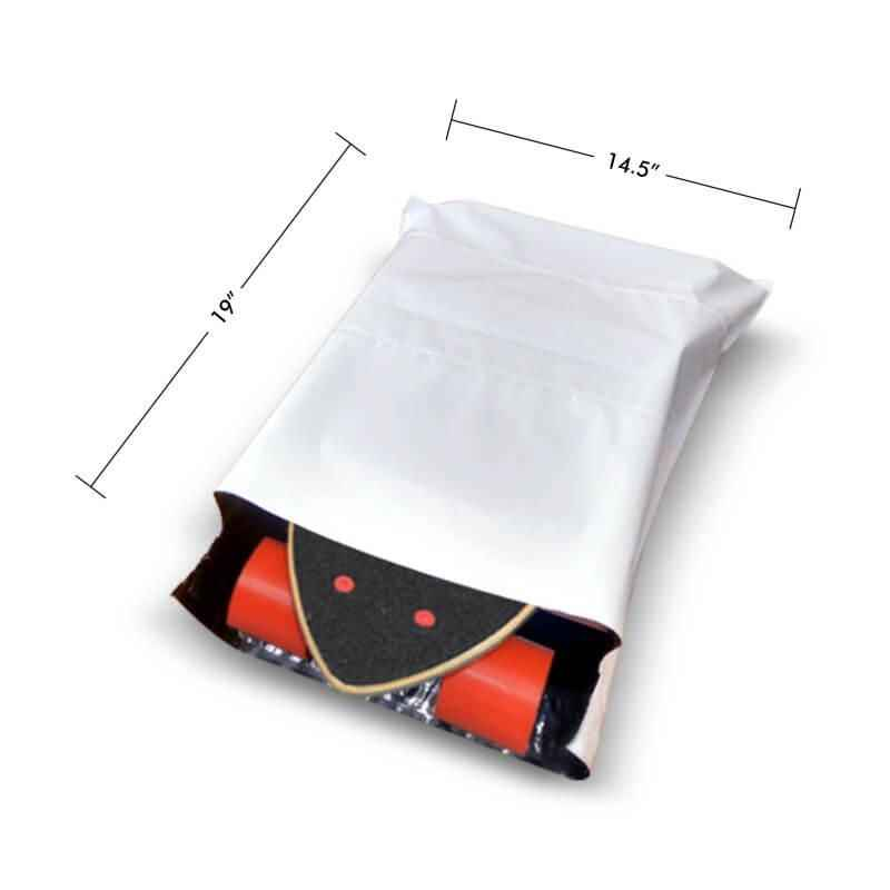 DynaCorp 50 Micron Tamper Proof Courier Bags with POD, Size: 14.5x19 inch (Pack of 400)