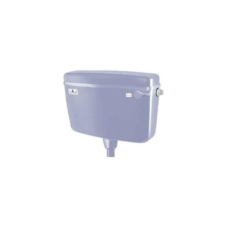 Parryware Slimline Standard Single Flush Plastic Cistern, E8297, Colour: White