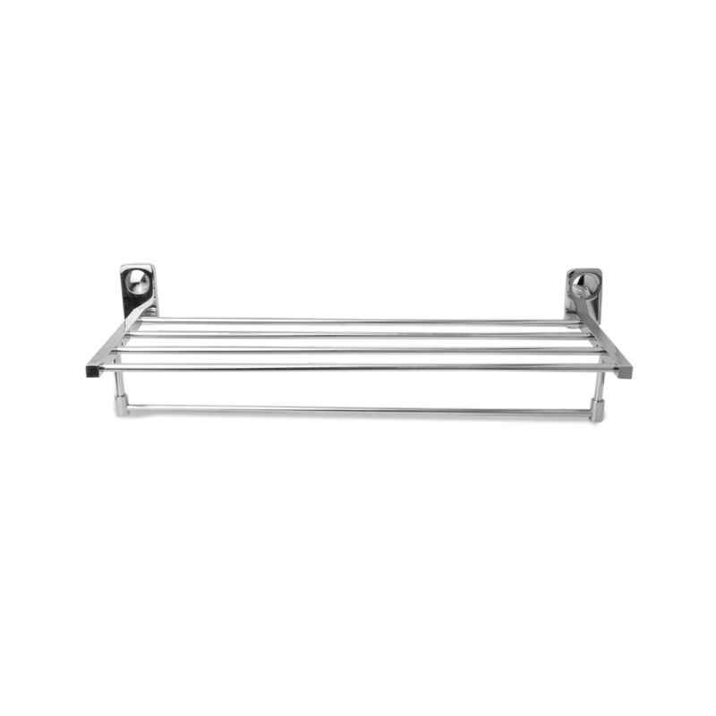 Abyss ABDY-0772 24 Inch Glossy Finish Stainless Steel Bathroom Towel Rack