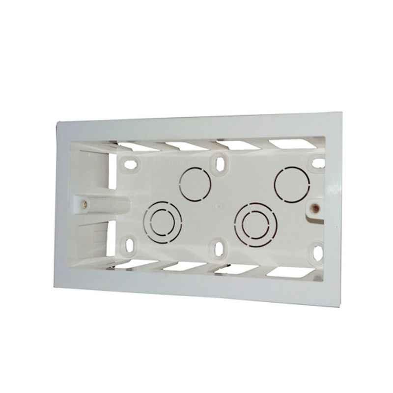 Legrand Arteor 2x4 Module Plastic Surface Box, 5735 74 (Pack of 2)