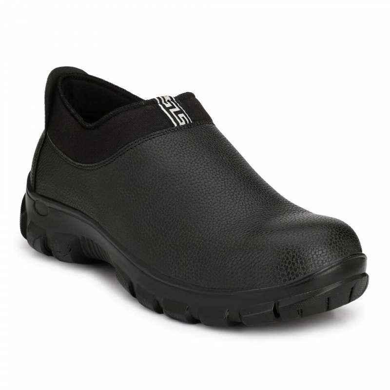 Timberwood TW30 Steel Toe Black Safety Shoes, Size: 9