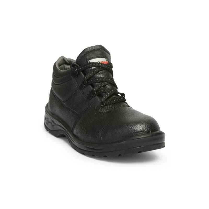 Hillson Rockland Steel Toe Black Safety Shoes, Size: 11