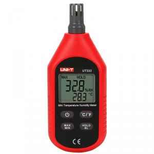 Uni-T UT-333 Digital Thermo Hygrometer with LCD Backlight, TECH2217