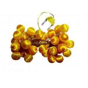 VRCT 5W B-22 Yellow Silky LED Ball Decorative String Light, HD-426a