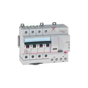 Legrand 63A DX³ 4 Pole RCBOs for AC Applications, 4113 69