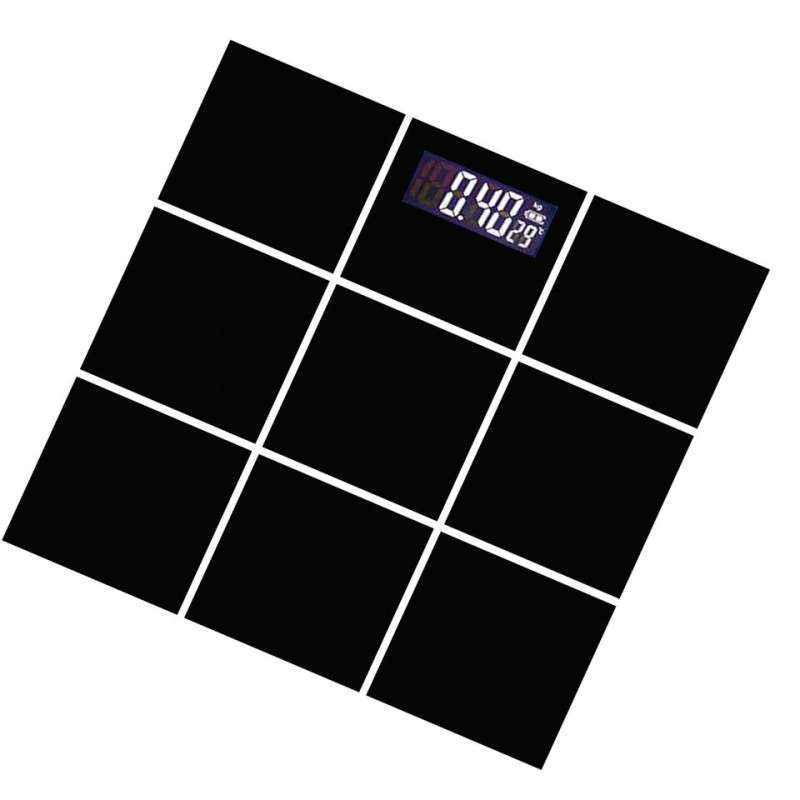 Weightrolux Digital Display Body Weighing Scale, EPS-2009Black