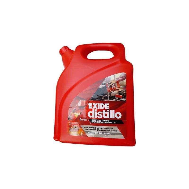 Exide Distillo 5L Battery Water