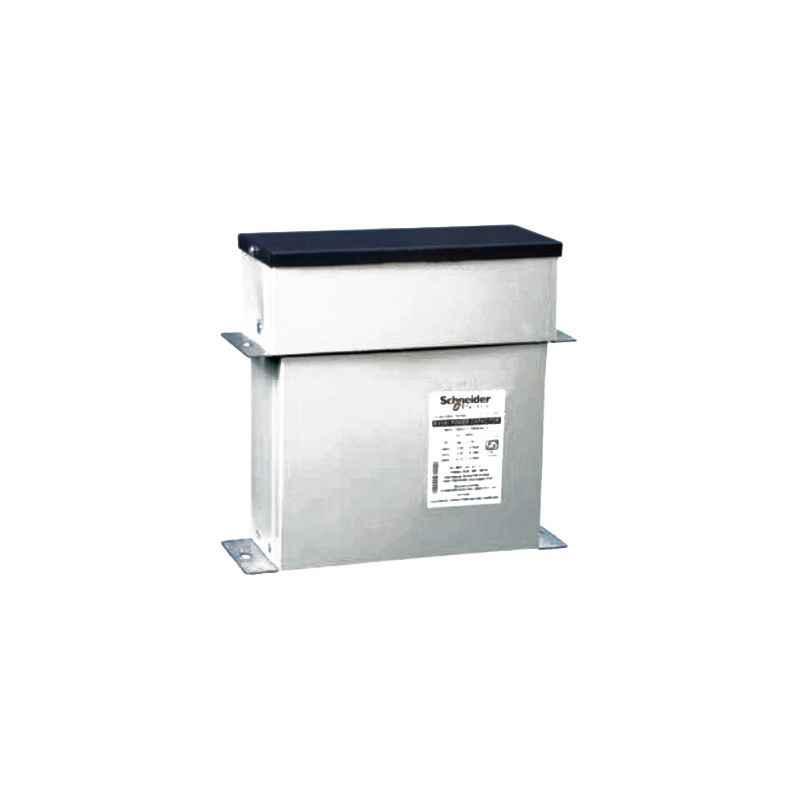 Schneider 17.2kVAr 525V Rectangular Detuned Filter Application Capacitor, MEHVBHDY172A52