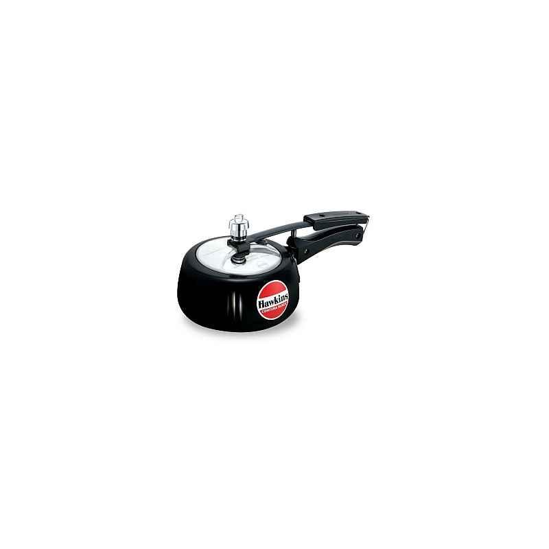 Hawkins Contura Black 1.5 Litre Pressure Cooker, CB15