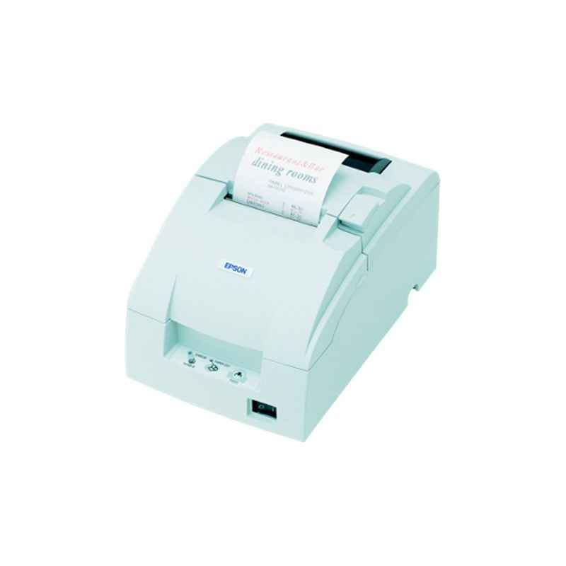 Epson TMU220 White Impact Dot Matrix POS Printer