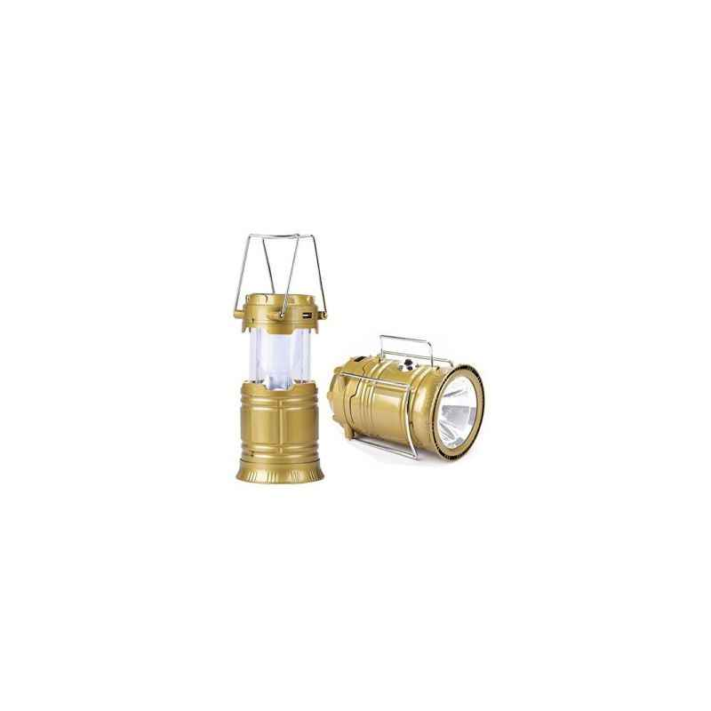 Homepro Assorted Solar Rechargeable Lantern (Pack of 2)