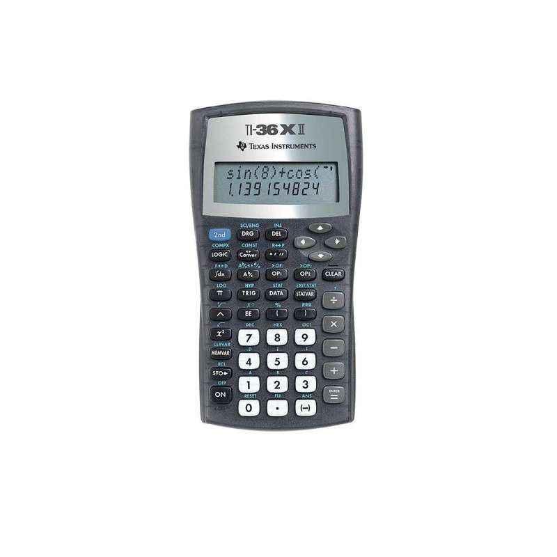 Texas Instruments TI - 36X II 10 Digit Scientific Calculator