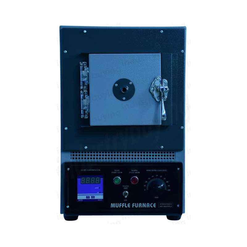 Jayanti JSI-132 High Temperature Muffle Furnace Digital, Dimension: 4x4x9 in