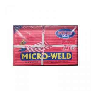 Microweld 6013 ISI, IBR & BHEL Approved MS Welding Rod Box, Size: 3.15x350 mm