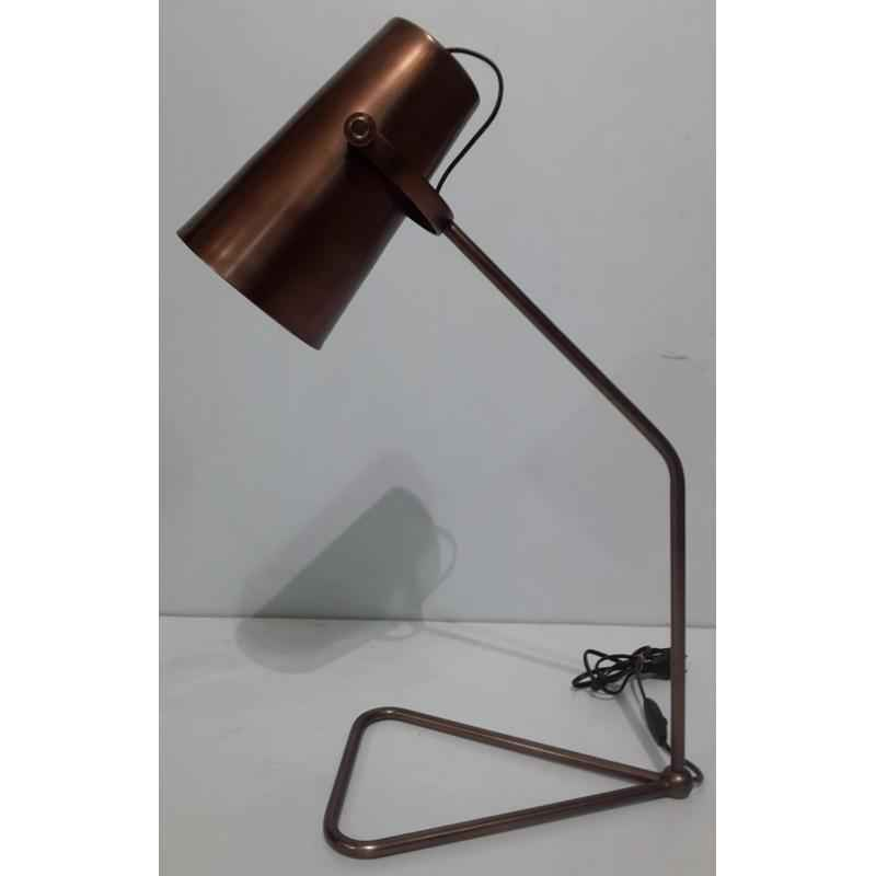 The Brighter Side Ophelia Copper Table Lamp