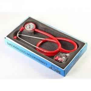 MCP Red Dual Head Adult Stethoscope