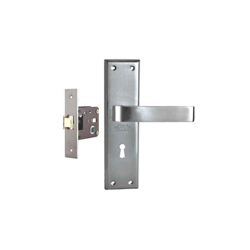 Plaza Vitara Stainless Steel Finish Handle with 200mm Baby Latch Keyless Lock