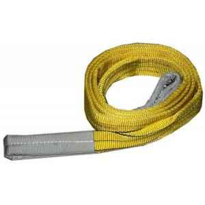Ferreterro 3 Ton 2m Yellow Double Ply Flat Polyester Webbing Sling