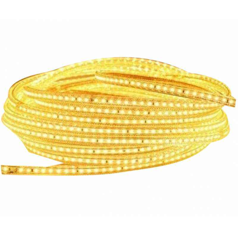 VRCT Classical 19.1m Yellow Waterproof SMD Strip Light with Adaptor, Yellow SMD 19.1