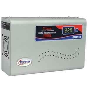Microtek EM 4130+ Digital Voltage Stabilizer for Upto 1.5 ton AC