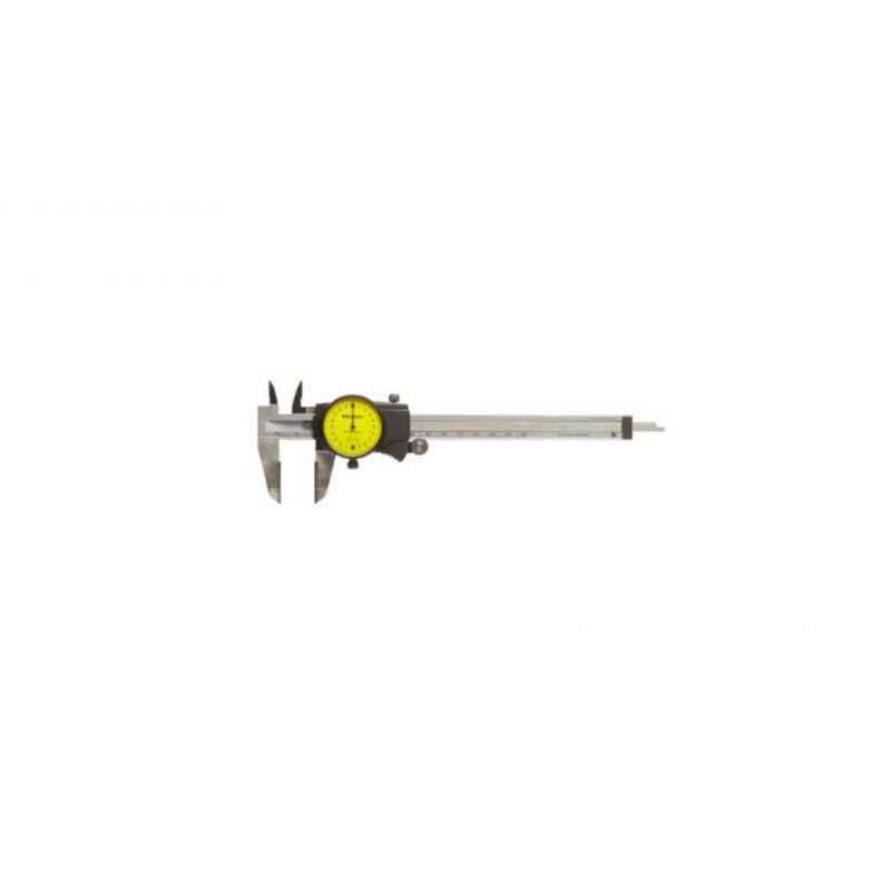 Mitutoyo Dial Caliper, 505, Range: 200 mm (0.02 mm)