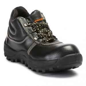 Prima PSF-27 Booster Steel Toe Black Safety Shoes, Size: 9 (Pack of 24)
