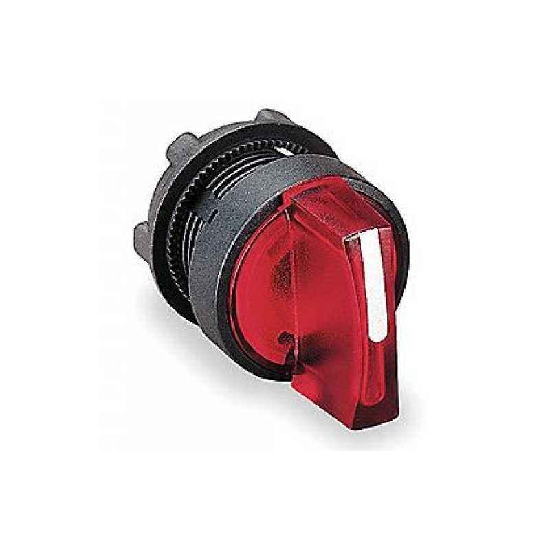 Schneider 24V Red Illuminated Selector Switch, XB5AK144B2N