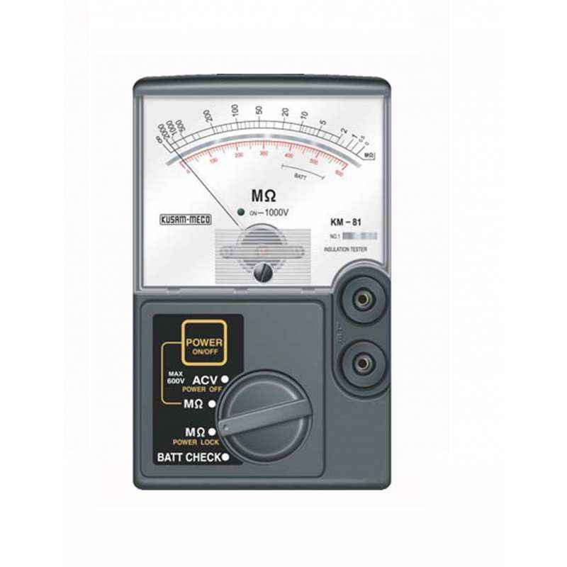 Kusam Meco KM81 Analog Insulation Tester