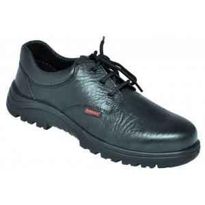 Karam FS 05 Steel Toe Black Safety Shoes, Size: 5