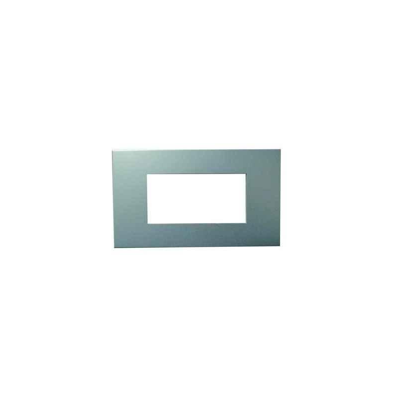 Legrand Arteor Pearl Aluminium Plates With Frames Pearl Aluminium Plate , 5757 31, (Pack of 3)