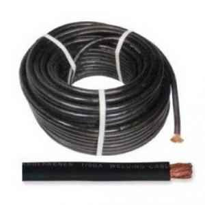 Omaxe 25 Sqmm Black Copper Welding Cable, Length: 10 m