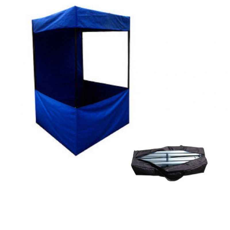 PSJ Blue Promotional Canopy with Free Carrying Bag, 214x183x183 cm