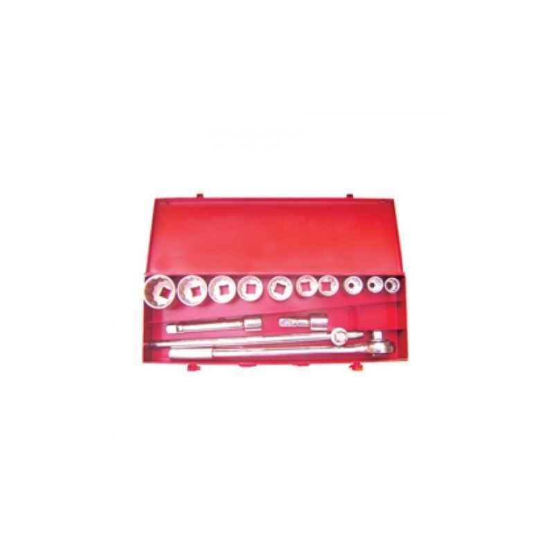 Eastman 3/4 Drive Socket Set-BI HEX, E-2222E, (Pack of 1)