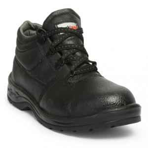 Hillson Rockland Steel Toe Black Safety Shoes, Size: 8