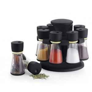 SM 8 Jar Revolving Spice Rack