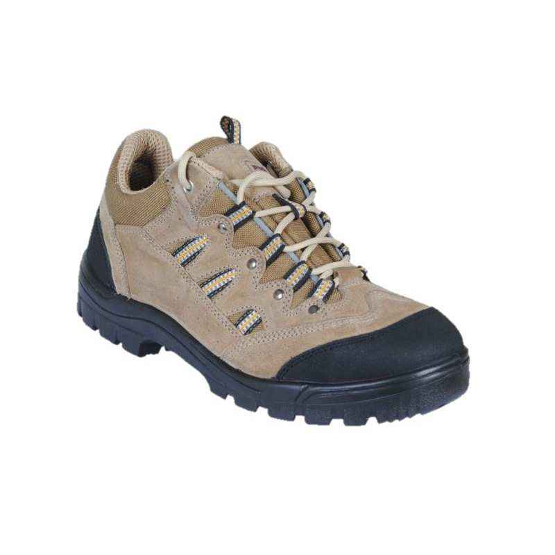 Prosafe PS MF-103 Steel Toe Brown Safety Shoes, Size: 9