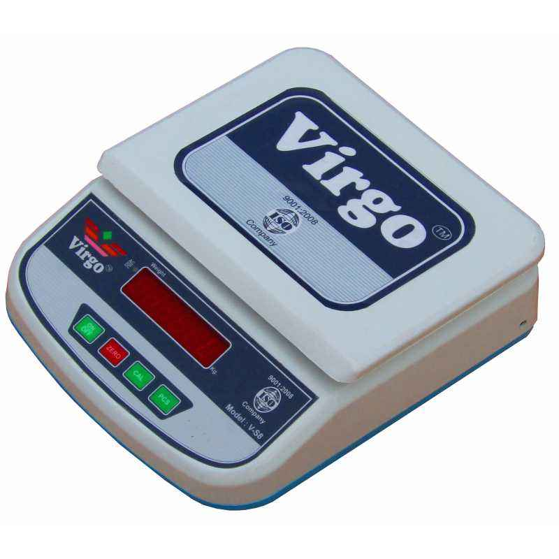 Virgo V-58 Digital Jewelry & Kitchen Weighing scale, Capacity: 25 kg