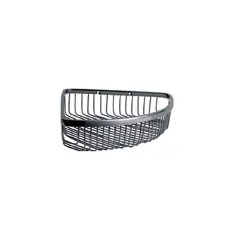Bath Age Wire Basket Corner, JAL 1601, Size: 9x9 Inch