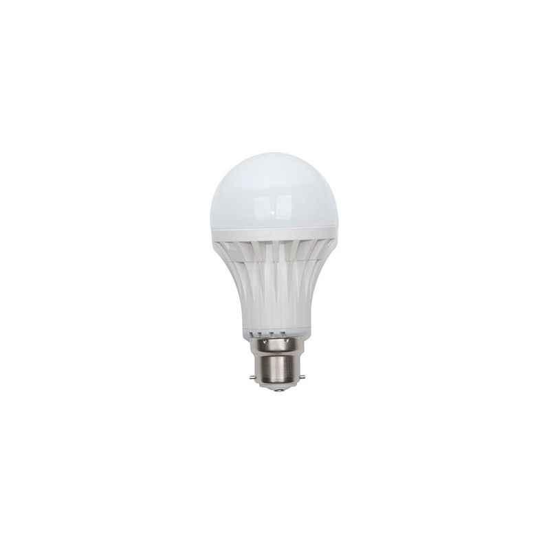 EGK (3W,5W,7W,12W) B-22 White LED Bulbs Combo (Pack of 8)