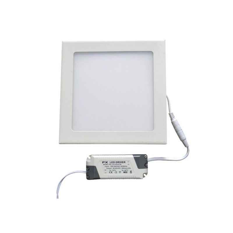 EGK 6W Cool White Square LED Panel Light with Driver (Pack of 4)