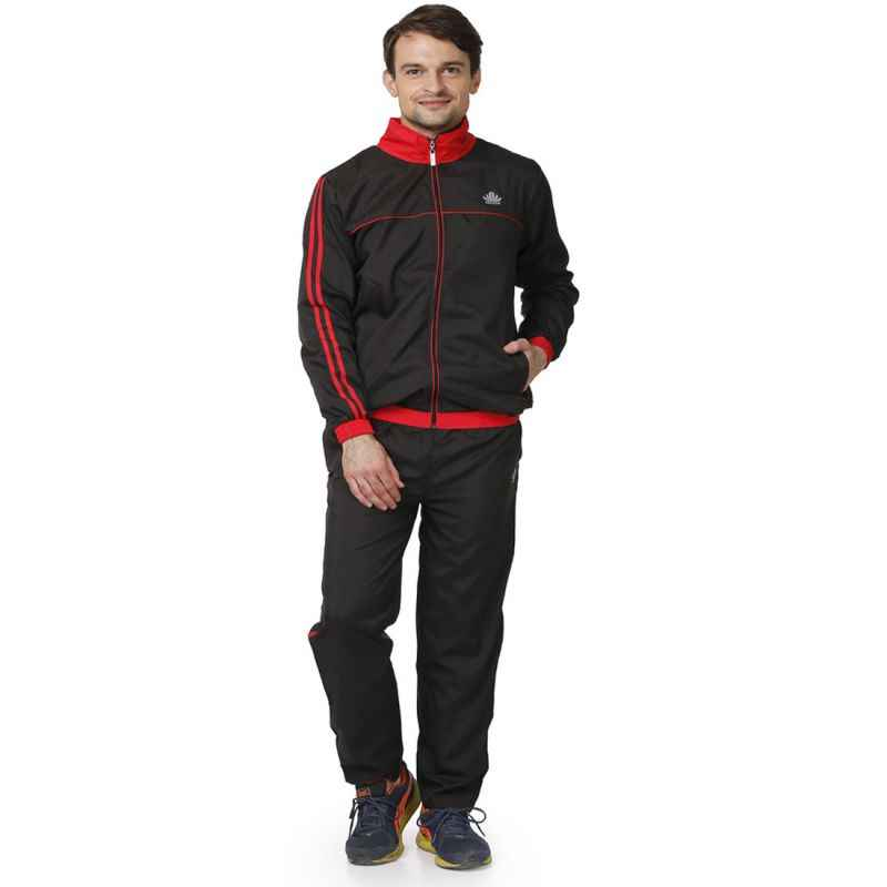 Abloom 110 Black & Red Tracksuit, Size: L
